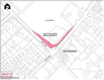 - Road works to improve Anstey junction