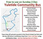 Yuletide Community Bus