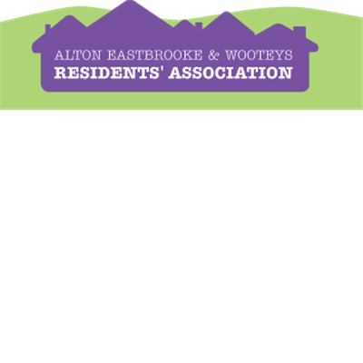 Alton Eastbrooke & Wooteys Residents' Association Logo